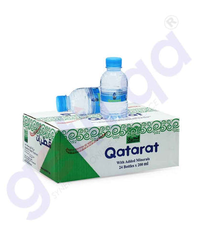 Buy Qatarat Water 200mlx24 Bottles Price Online in Doha Qatar