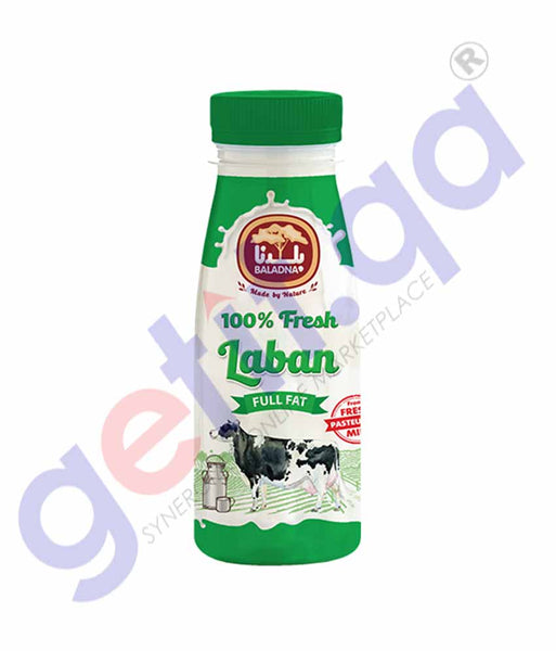 GETIT.QA | Buy Baladna Fresh Laban Full Fat 360ml Online in Doha Qatar