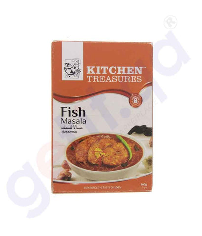 Buy Kitchen Treasures Fish Masala 160g Online Doha Qatar