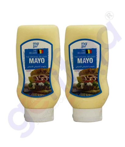 Buy MF Original Belgian Mayo 500mlx2 Online in Doha Qatar