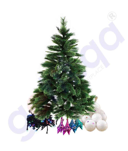 CHRISTMAS DECORATIONS SET WITH 5FT TREE