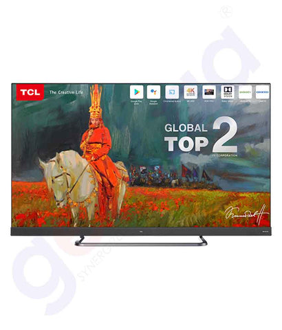 "TCL 55""  ANDROID 9 (PIE)/UHD RESOLUTION 55C8"