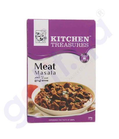 Buy Kitchen Treasures Meat Masala 160g Online Doha Qatar