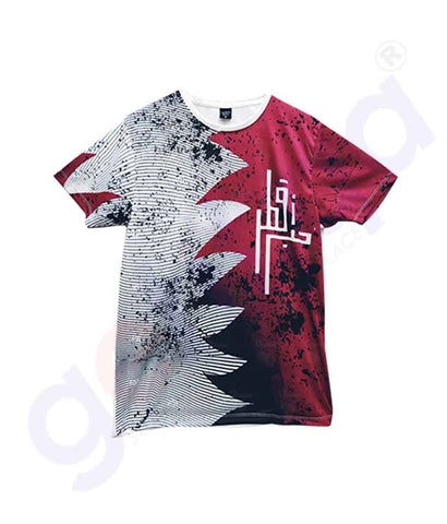 Buy Qatar National Day T-Shirt MT3 Price Online Doha Qatar
