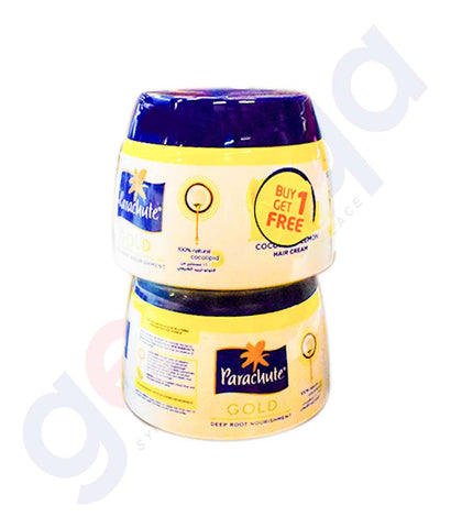 PARACHUTE  ANTI DANDRUFF COCONUT AND LEMON HAIR CREAM  140 ML x 2 BUY 1 GET 1 FREE