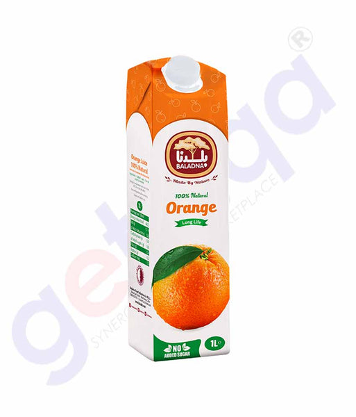 BALADNA ORANGE JUICE LONG LIFE 1LTR