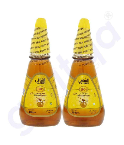 Buy Al Shafi Natural Honey 2x400gm Price Online Doha Qatar