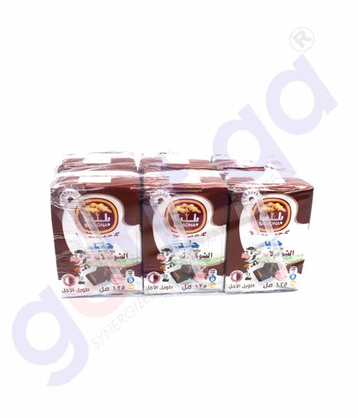 GETIT.QA | Buy Baladna Chocolate Flavored Long Life Milk 125ml Doha Qatar