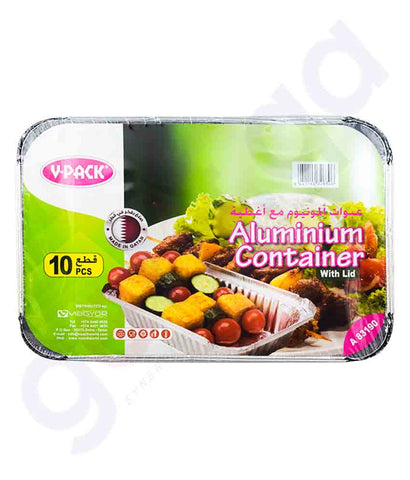 Buy V-Pack Aluminium Container A83190 Online in Doha Qatar