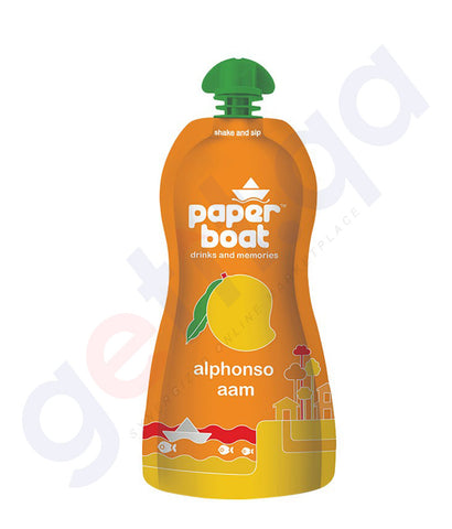 BUY BEST PRICED PAPER BOAT ALPHONSO MANGO DRINK 200ML IN QATAR