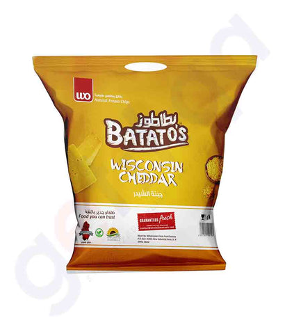 Buy Batato's Wisconsin Cheddar 15gm, 15gmx20, 30gm, 167gm Price Online in Doha Qatar