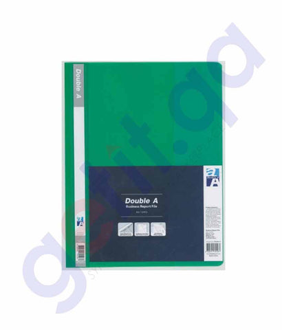 Double A report file 12 s green