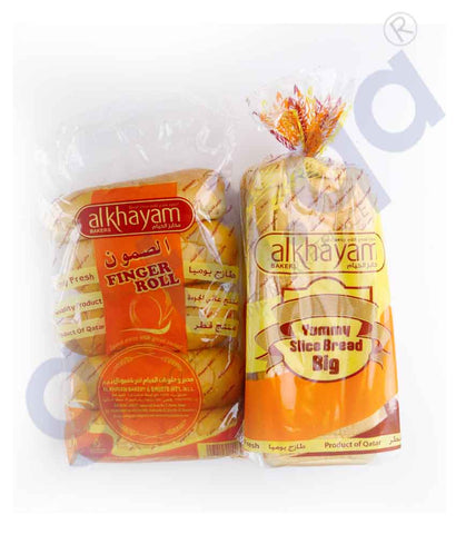 AL KHAYAM BREAD + FINGER ROLL COMBO PACK