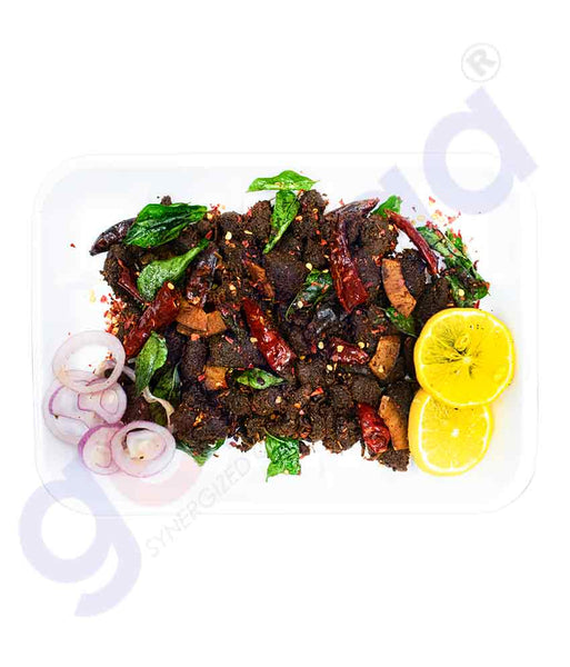 GETIT.QA | Get Delicious Mirchi Beef Fry in Pure Coconut Oil Doha Qatar