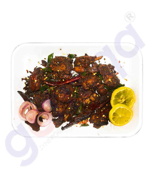 MIRCHI CHICKEN FRY (IN PURE COCONUT OIL)