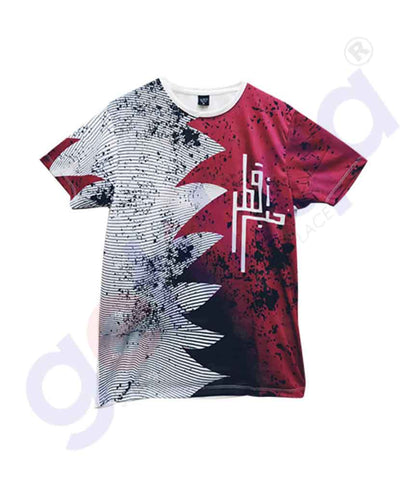 Buy Qatar National Day T-Shirt Kids KD1 Online Doha Qatar