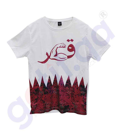 Buy Qatar National Day T-Shirt Kids KD2 Online Doha Qatar
