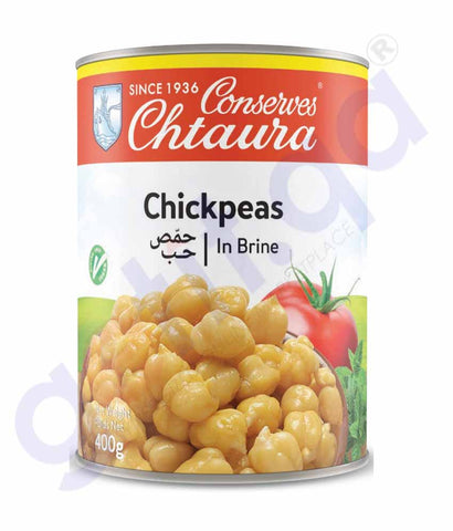 GETIT.QA | Buy Conserves Chtaura Chickpeas in Brine 400gm Doha Qatar