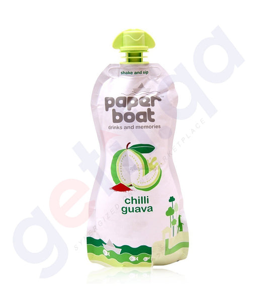 BUY BEST PRICED PAPER BOAT GUAVA 200ML ONLINE IN QATAR