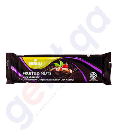 VOCHELLE DARK CHOCOLATE  FRUIT&NUTS