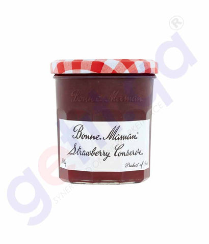 Buy Bonne Maman Strawberry Jam 370gm Online in Doha Qatar