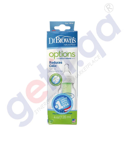 BUY DR BROWN NARROW NECK OPTIONS BOTTLE -2 PC BLUE- SB42405 IN QATAR