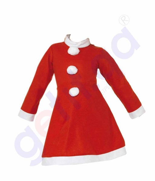 Buy Christmas Santa Dress for Girls Price Online Doha Qatar