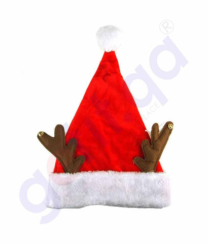 Buy Christmas Santa Hat W/ Bell for Child Price Doha Qatar