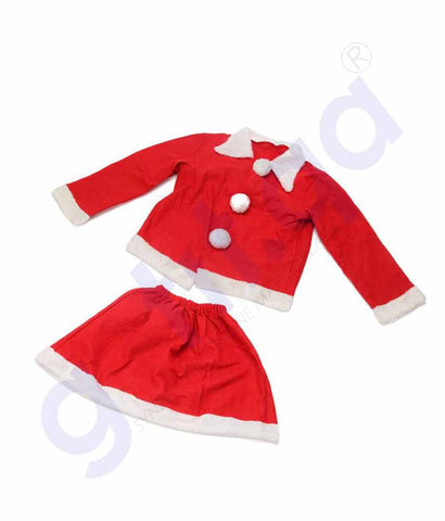 Buy Christmas Costume Coat & Skirt Price Online Doha Qatar