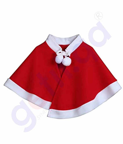 Buy Christmas Santa Cape for Girls Price Online Doha Qatar