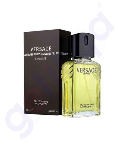 VERSACE HOMME EDT 100ML FOR MEN
