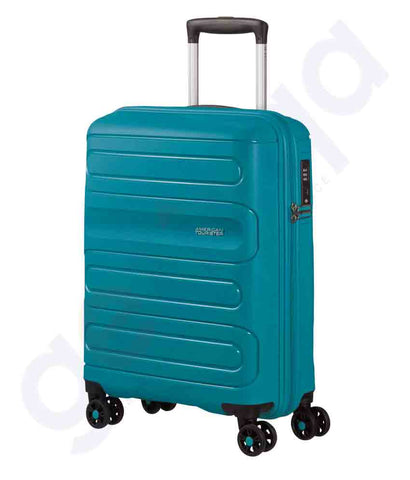 Buy American Tourister Brisbane 55cm Navy Price Doha Qatar