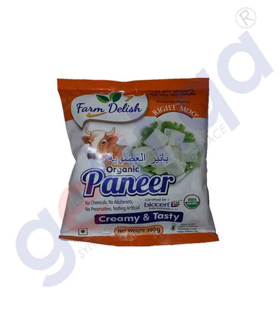 FARM DELISH ORGANIC PANEER 300 GM