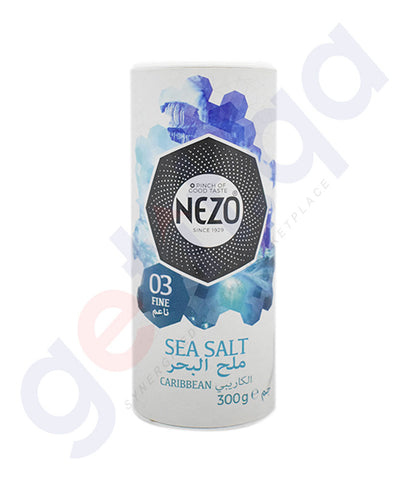 Buy Nezo 03 Fine Sea Salt Caribbean 300gm Online Doha Qatar