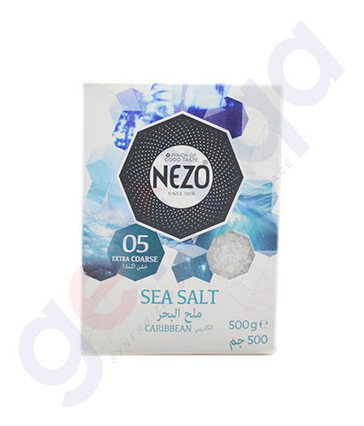 Buy Nezo 05 Extra Coarse Sea Salt 500gm Online Doha Qatar