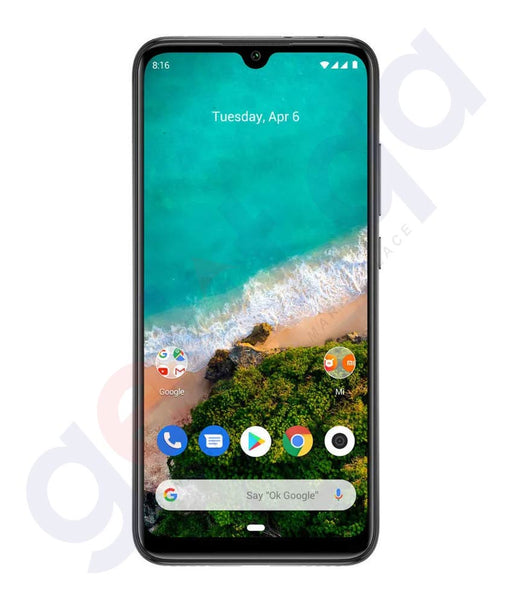 Buy Xiaomi Mi A3 4gb 64gb Grey/ Blue Online in Doha Qatar