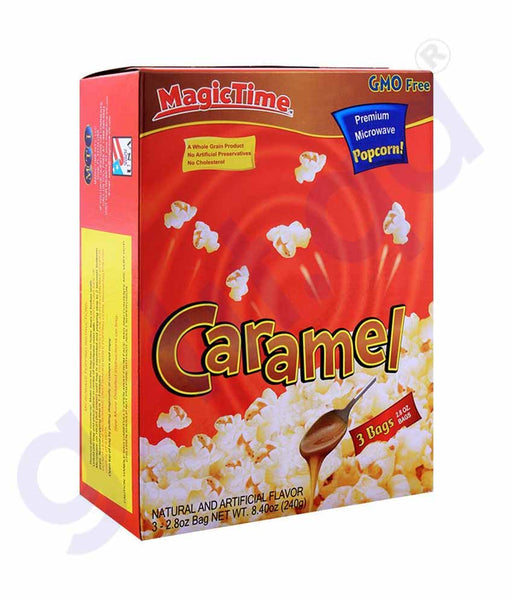 GETIT.QA | Buy Magic Time Caramel Butter Toffee Popcorn 240g Doha Qatar