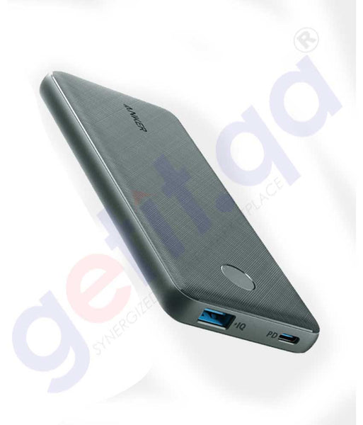 GETIT.QA | Buy Anker Powercore Slim 10000mAh Black Iteration2 Doha Qatar