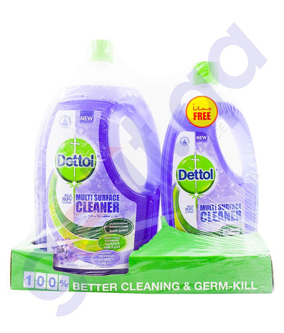 Buy Dettol MPC Lavender 3Ltr+1Ltr FREE Online in Doha Qatar