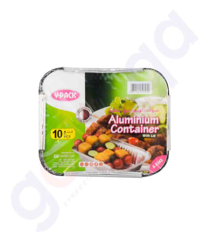 Buy V-Pack Aluminium Container A8342 Online in Doha Qatar
