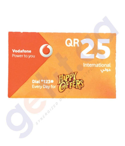 SHOP FOR VODAFONE INTERNATIONAL 25 ONLINE IN QATAR