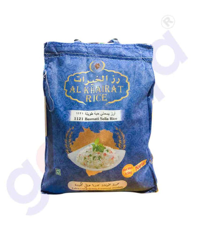 Buy Al Khairath Basmati Rice Price Online in Doha Qatar