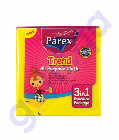 Buy Parex Trend All-Purpose Cloth 3-in-1 Economical Doha Qatar