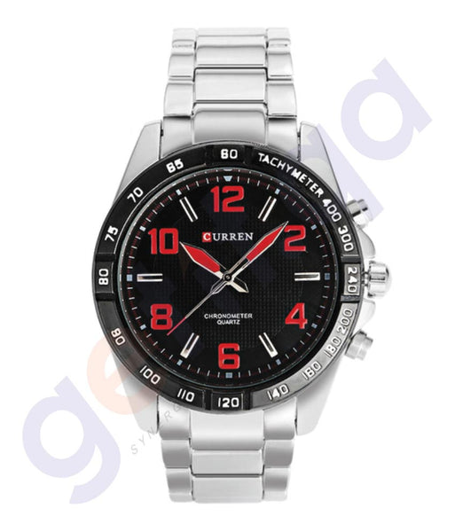 BUY CURREN STAINLESS STEEL 8107 WATCH ONLINE IN QATAR