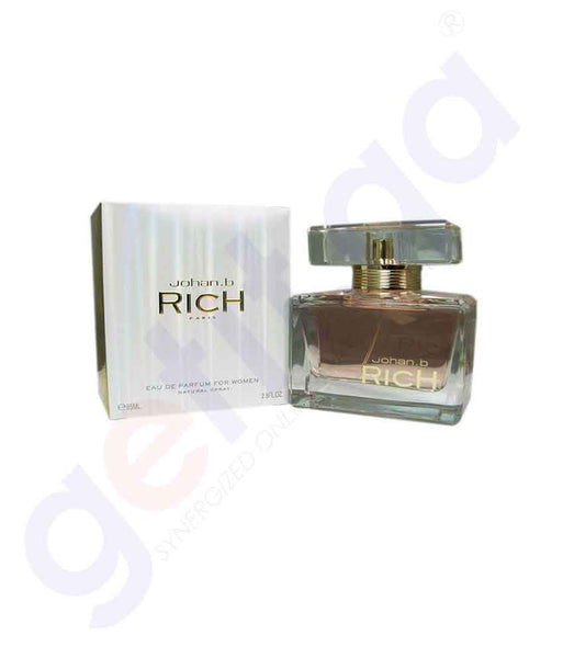 JOHAN B RICH EDP 85ML FOR WOMEN