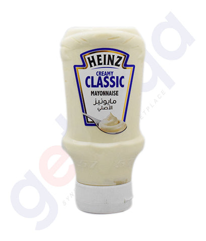 Buy Heinz Creamy Classic Mayonnaise Top Down 225ml in Doha Qatar