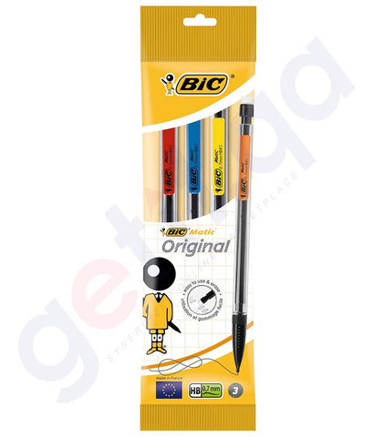 BUY BIC MATIC HEX 0.7MM 4 PIECES ONLINE IN DOHA QATAR