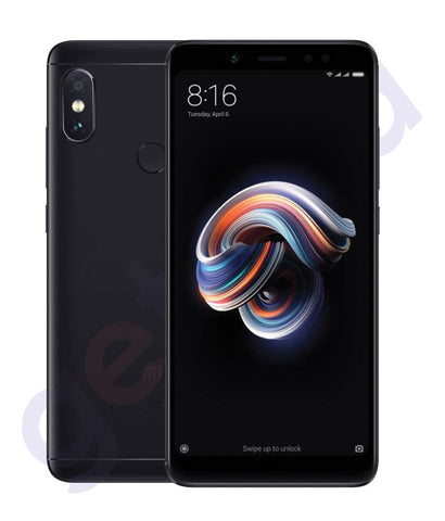 BUY ONLINE XIAOMI REDMI NOTE 5-DUAL SIM/3GB RAM/32 GB/4G-BLACK IN DOHA QATAR