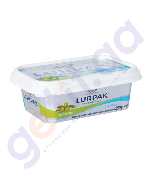 BUY BEST PRICED LURPAK SPREADABLE WITH OLIVE 250GM ONLINE IN QATAR