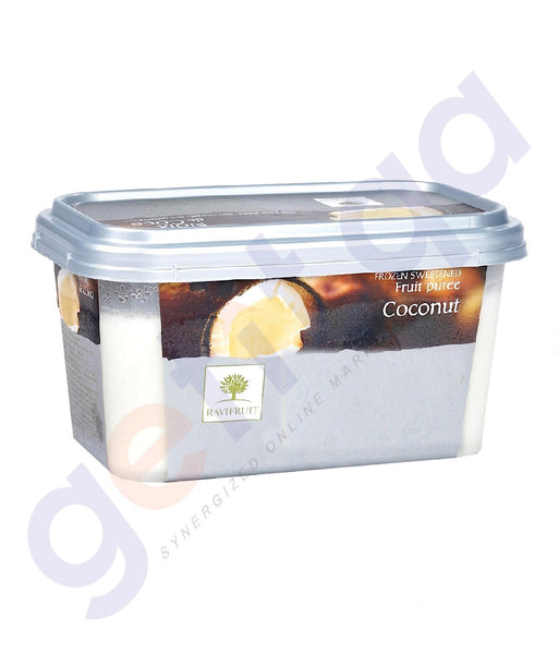 BUY BEST PRICED RAVIFRUIT-FROZEN COCONUT PUREE{1KG} IN QATAR